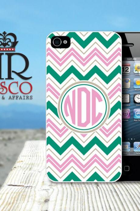 iPhone 4 Case, iPhone 4s Case, Monogram iPhone Case, Chevron iPhone Case (58)