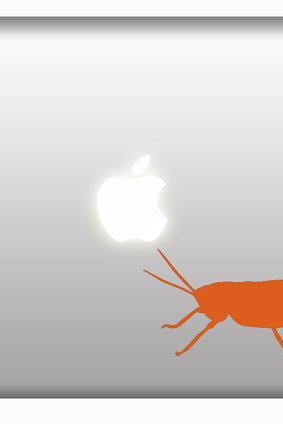 GRASSHOPPER Macbook Vinyl Decal or Window Sticker for Car Truck