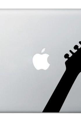 Rock Star Guitar - vinyl sticker, decal for Mac, macbook, laptops - Buy 2 get 1 Free