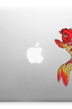 Koi Fish Design for Apple, Mac,Laptops Vinyl Skin Decal Sticker Full Color