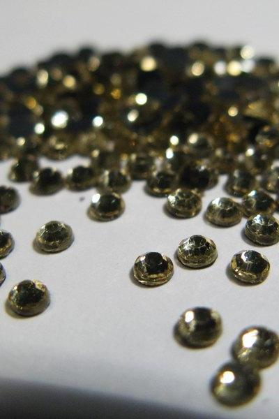 SS10 Jonquil Hotfix Rhinestones Crystal 144 Pieces