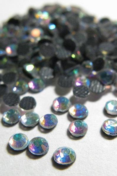 SS10 Crystal AB Hotfix Rhinestones Crystal 144 Pieces