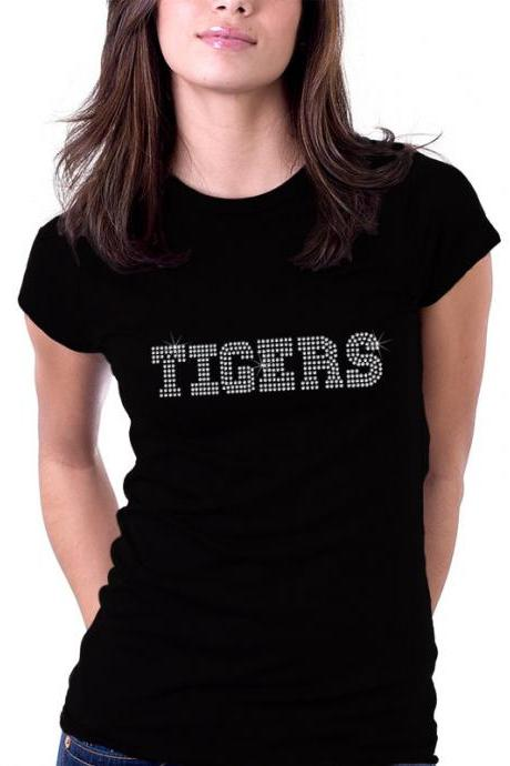 Custom Personalized Sports Team Rhinestone Shirt