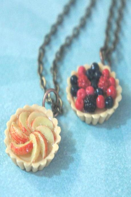 fruit tarts necklace