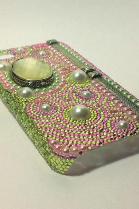 Cell phone case bling case rhinestone case crystal case