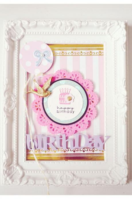 Round Birthday Tags #2