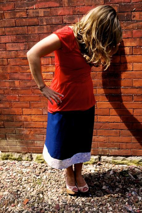 Simple Tea Skirt