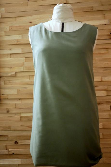 30 Dollar SALE Mod Dress/Tunic Sage