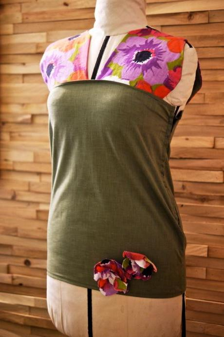 SALE Daisy Tunic Olive SALE