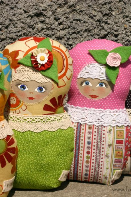 Matryoshka Russian doll