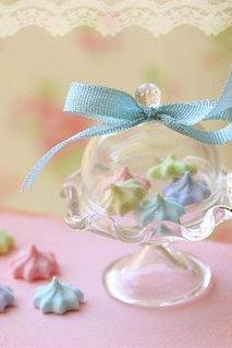 Dollhouse Miniature Food - Elegant Pastel Meringues