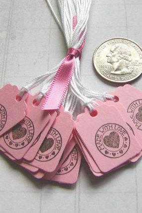 Tiny Made with Love Tags (20)