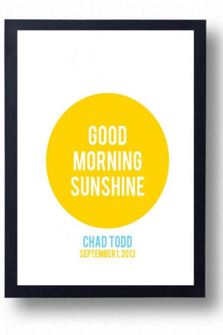 Good Morning Sunshine-
