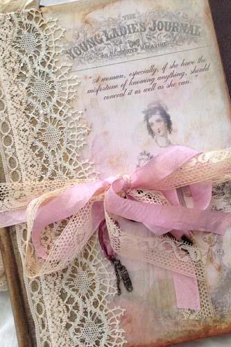 Jane Austin Journal - Theme vintage style - 68 page