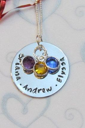 Mother's Love Necklace - Children's Names