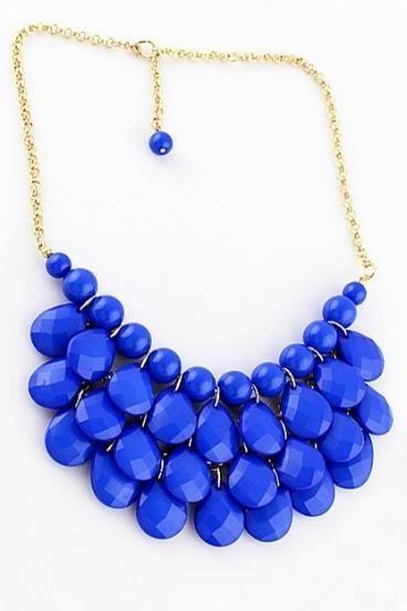 Droplet Statement Necklace