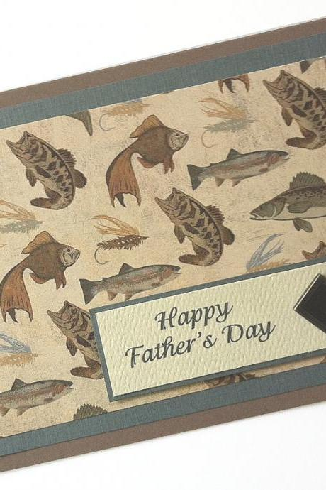 Father's Day Card, Fish Card, Card for Dad