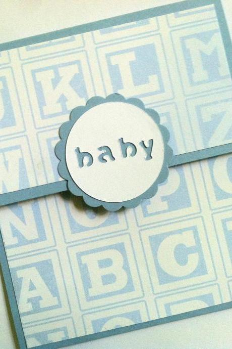Baby Gift Card Holder, Baby Boy, Baby Shower, Birthday