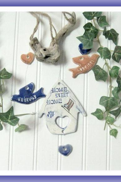 Little House Wind Chime Personalized
