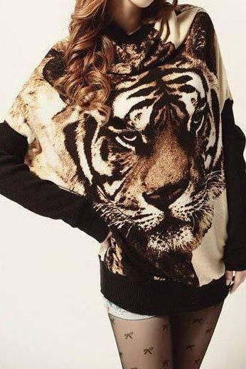 Long Tiger Sweatshirt
