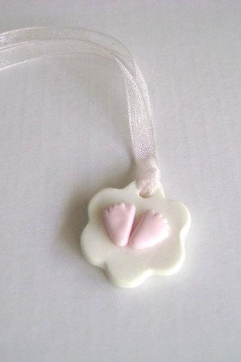 Baby Shower Tag.Gift Tag.Clay Gift Tag.Set of 10-Ready to ship