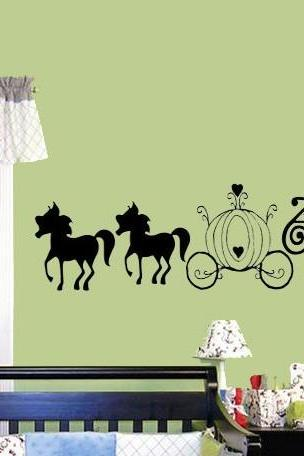 Cinderella Wall decal - child's bedroom