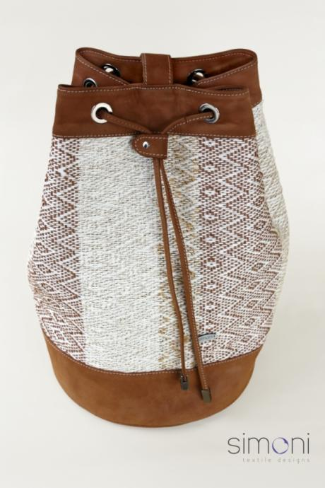 I love Neutrals hand-woven Duffel Bag
