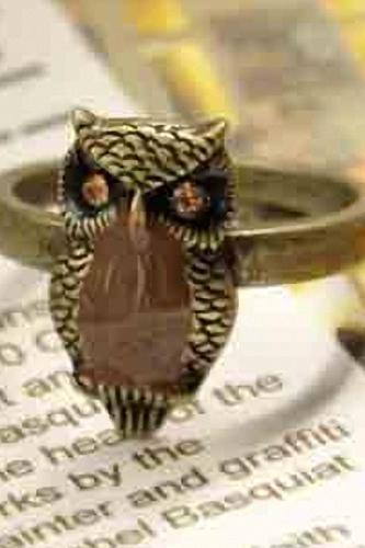 Owl Ring, Owl Ring For Girls, Free Shipping Ring
