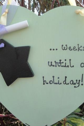 Holiday Countdown Chalkboard