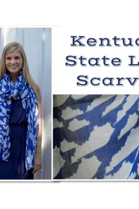 Pre-order Kentucky State Love Scarf