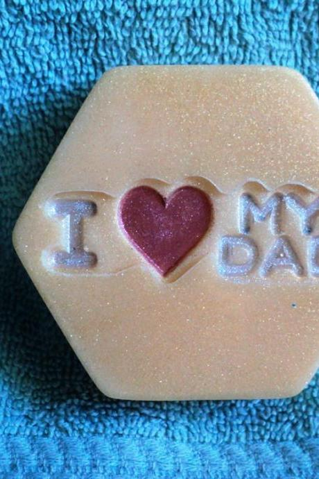 Father's Day Soap - I Love My Dad - Hugo Boss Scent