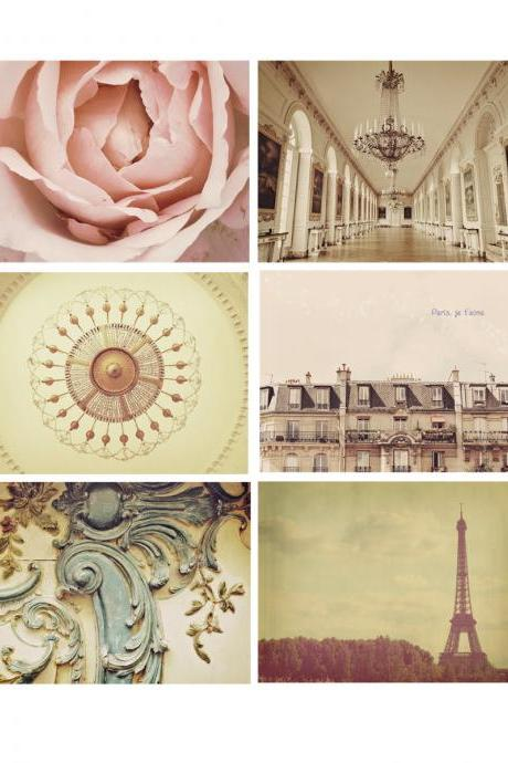 Choose Any Four Paris Photo - Customized - 4x6'