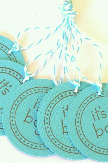 It's A Boy Tags - Set of 5