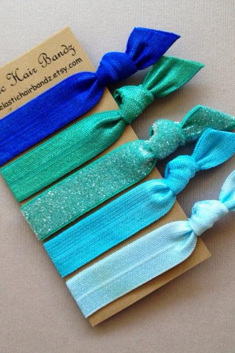 The Sydney Hair Ties - Ponytail Holder Collection by Elastic Hair Bandz on Etsy
