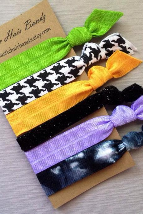 The Coraline Hair Tie-Ponytail Holder Collection by Elastic Hair Bandz on Etsy