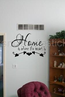 Our 1st Home Decorations - Home is Where the Heart Is