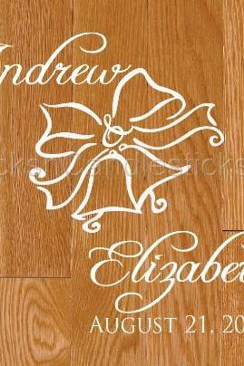 Wedding Dance Floor Decals Wedding Bells
