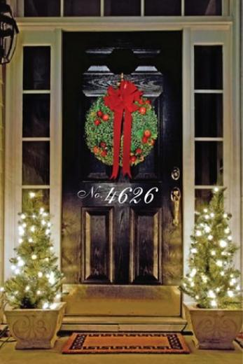Our 1st Home Decorations- Decorative Door Number