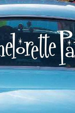 My Bachelorette Party Car Decals Personalized Bachelorette Party