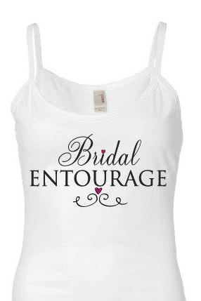 Bridal Tank Top-The Bridal Entourage