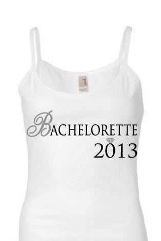 Bridal Tank Top Bachlorette Engagement