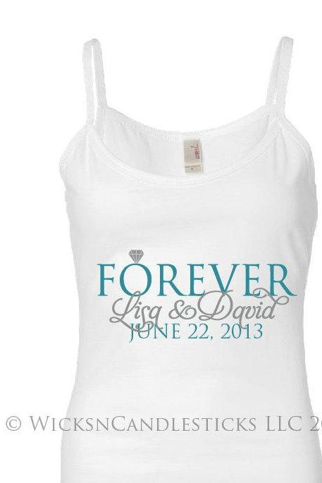 Bridal Tank Top-Together Forever