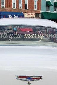 Proposal Wedding Car Decals Will You Marry Me Proposal Car Decal