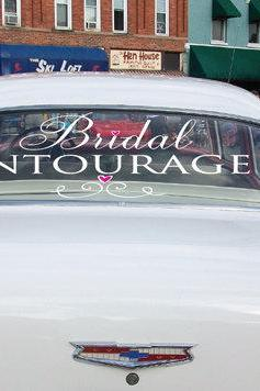 Bridal Party Car Decals Bridal Entourage