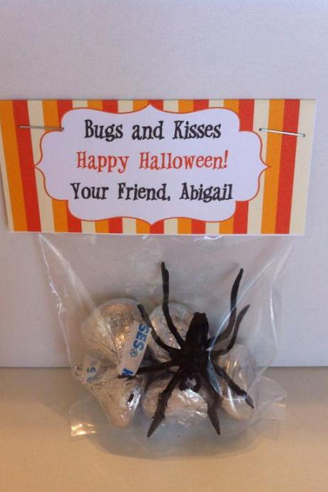 Halloween Treat Bag Topper - Printable File