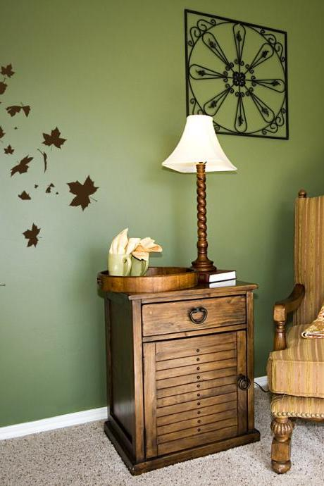 Falling Leaves Wall Decal - Vinyl Wall Art Decal Sticker
