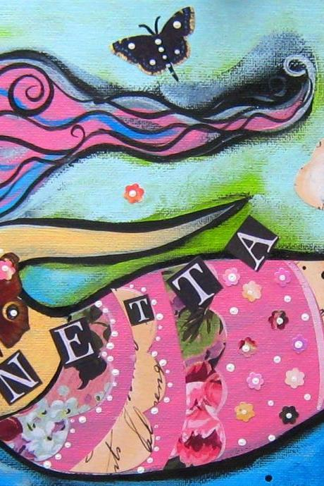 Sirenetta Original painting