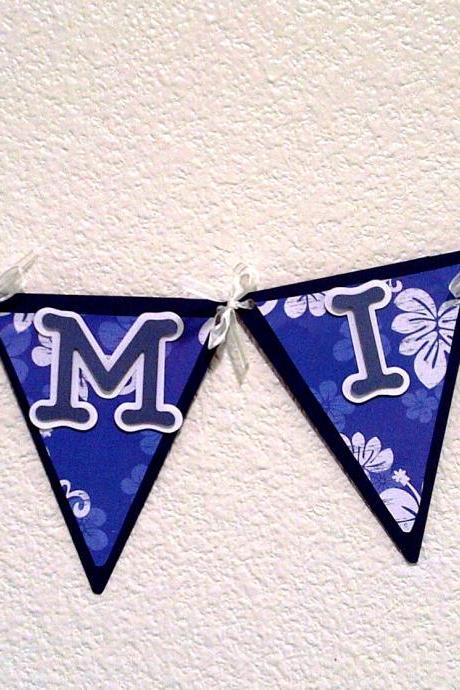 FAMILY Banner - Blue Hawaii