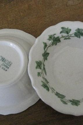 vintage Syracuse China restaurant ware Fruit Bowls