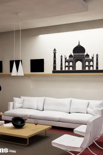 Taj Mahal Wall Art Decal